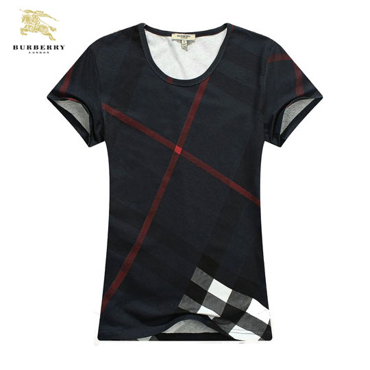 Tee shirt Burberry Femme Col Rond Manches Courte